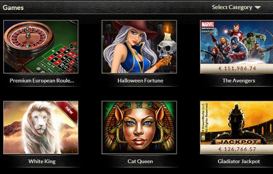 eurogrand casino games