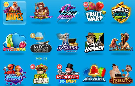 vera john casino games