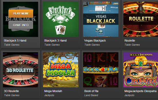 bet victor casino games