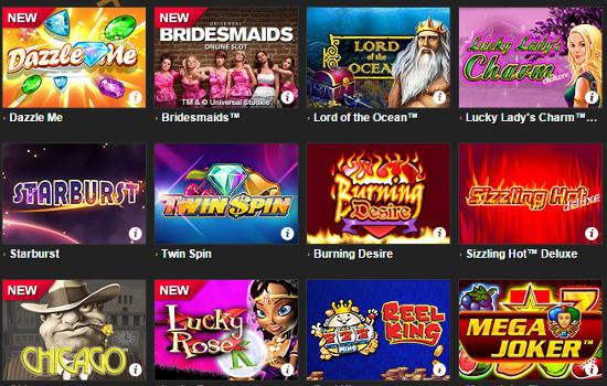 enery casino games